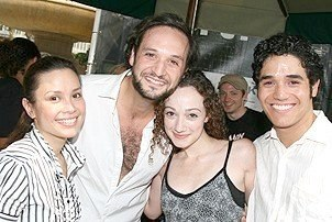 Les Miserables backstage 3