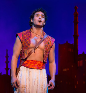 Adam Jacobs as Aladdin