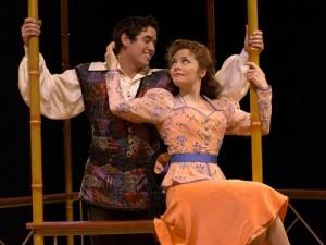 Adam Jacobs and Susan Moniz