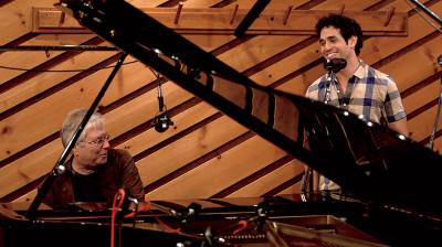 Alan Menken and Adam Jacobs
