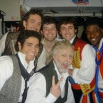 Les Miserables backstage 1