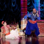 Adam Jacobs and James Monroe Iglehart (Seattle)
